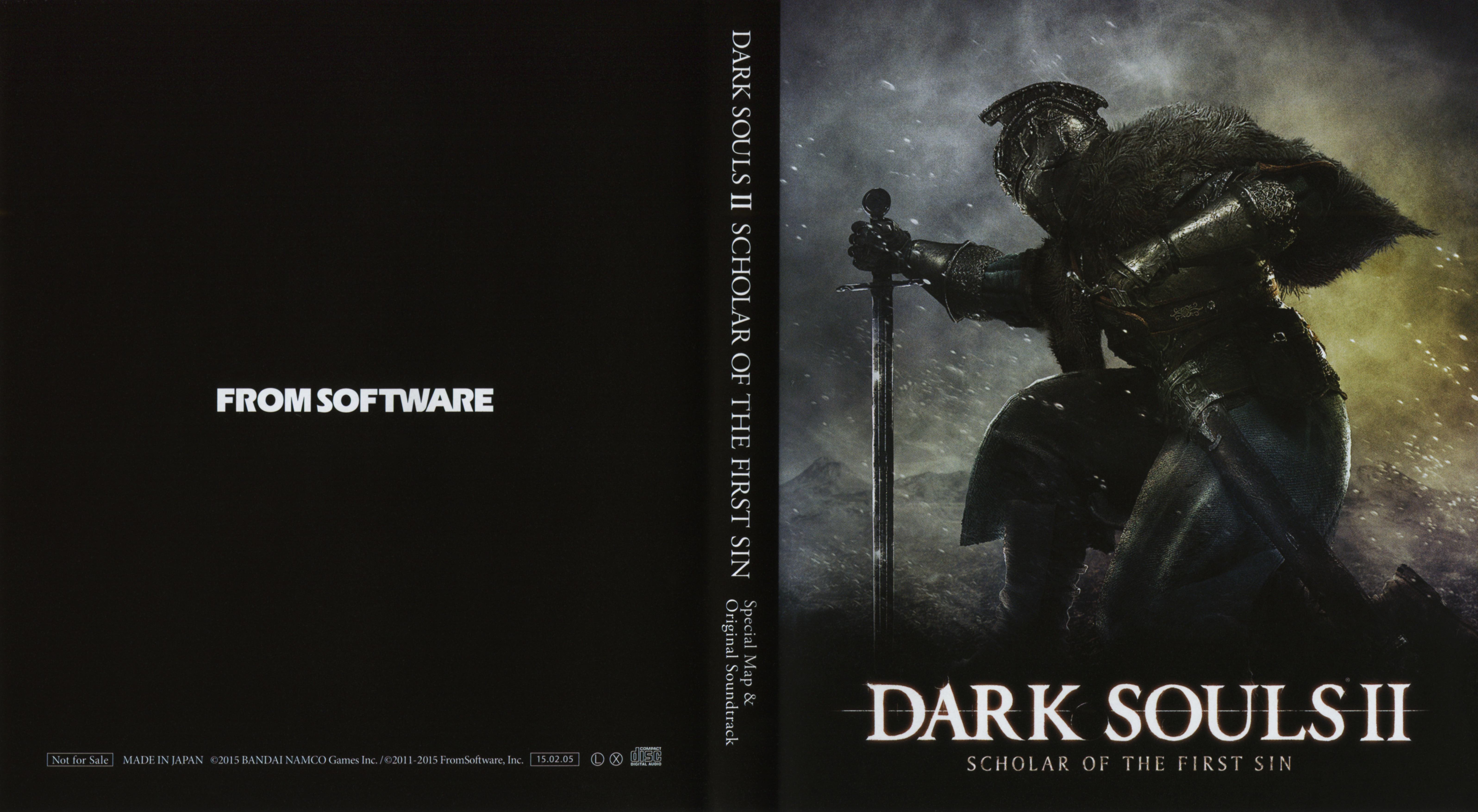 Dark Souls 2 Scholar Of The First Sin Original Soundtrack 2015