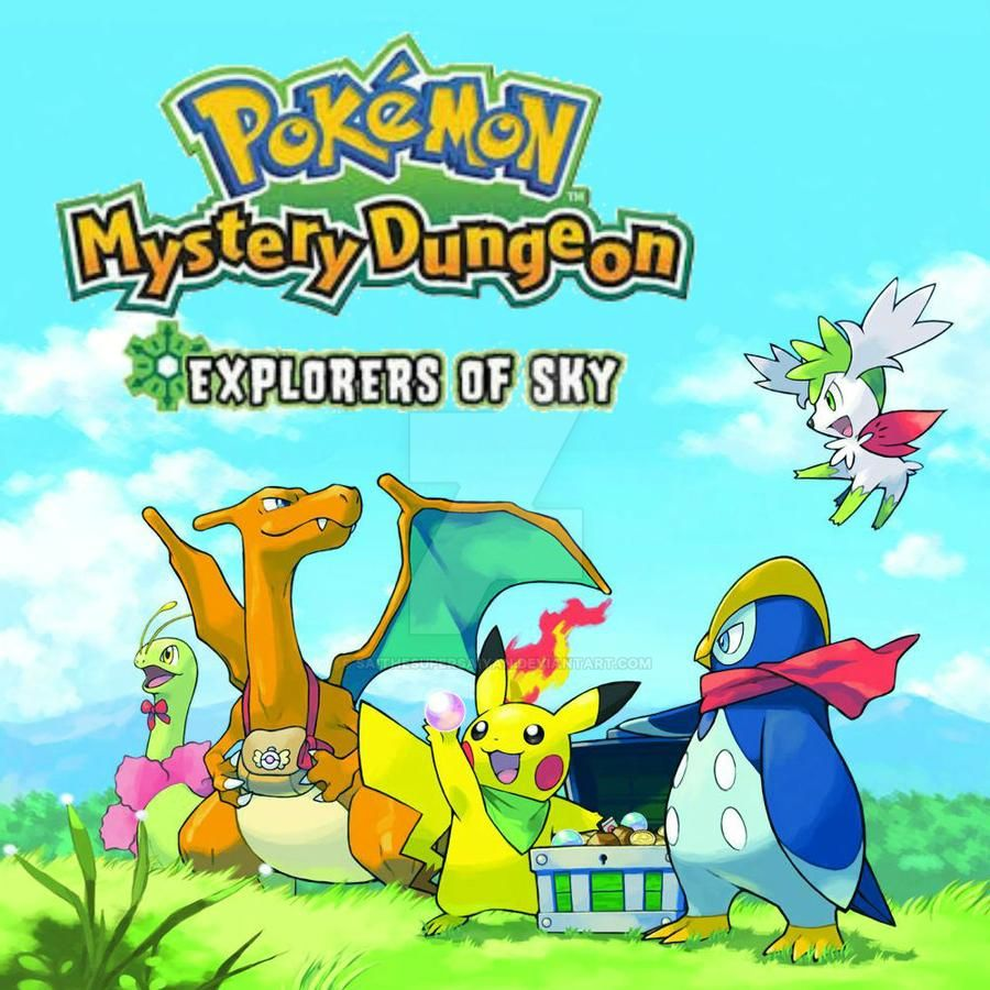 Pokemon Mystery Dungeon - Explorers of Sky MP3 - Download